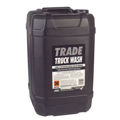 CarPlan Trade Truck Wash 25 Litre Alkaline Cleaning Fluid Degreaser 25L Litres