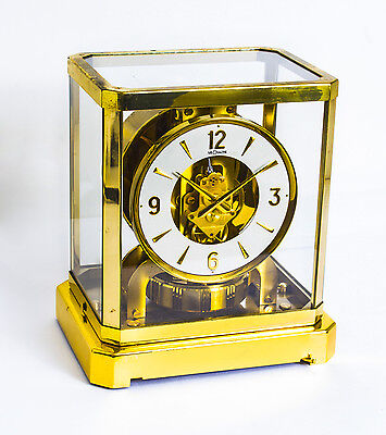 Vintage Atmos Jaeger le Coultre Mantle Clock c.1970