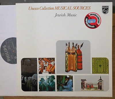 V.a. Unesco Collection Musical Sources Jewish Music Religious Psalmody Lp