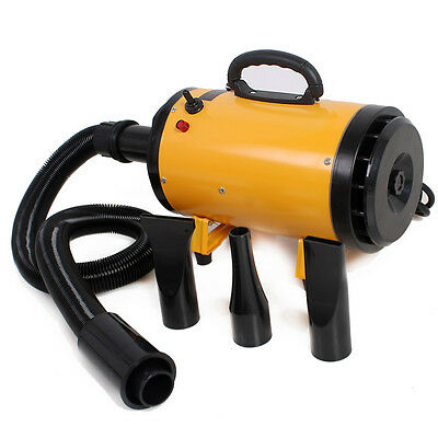 2800W Pet Adjustable Hairdryer Dog Cat Grooming Pets Hair Dryer Blaster Blower