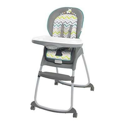Ingenuity Trio 3-in-1 Ridgedale High Chair, Grey New