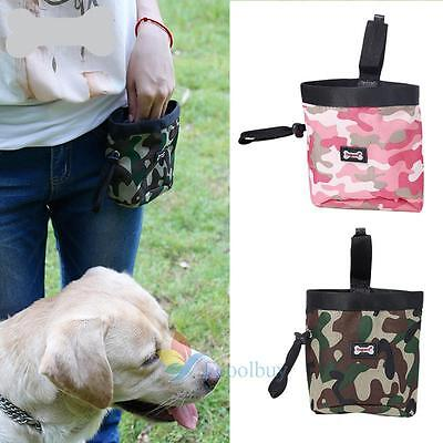 Dog Pet Puppy Snack Obedience Agility Bait Food Training Treat Waist Pouch Bag A