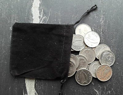 Bag Of  20 Old Irish 10p Ten Pence  ( Small Size ) Coins Mixed Dates