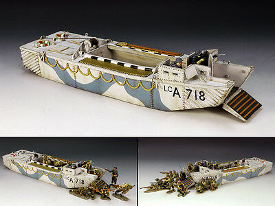 King and (&) Country DD107 - Landing Craft Assault (#LCA 718) - Retired