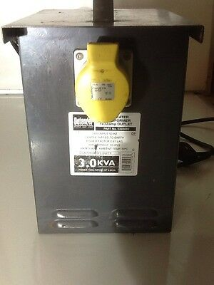3.0kva 110 VOLT PORTABLE TOOL/ HEATER TRANSFORMER