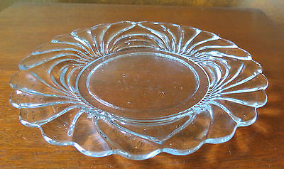 "Cambridge Caprice CLEAR 8 ½"" Salad/Luncheon Plate(s)"