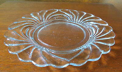 """Cambridge Caprice CLEAR 8 ½"""" Salad/Luncheon Plate(s)"""