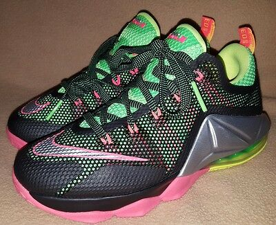 Nike Air Max Lebron 12 Remix Basketball Shoes Youth Size 6y Retail 145