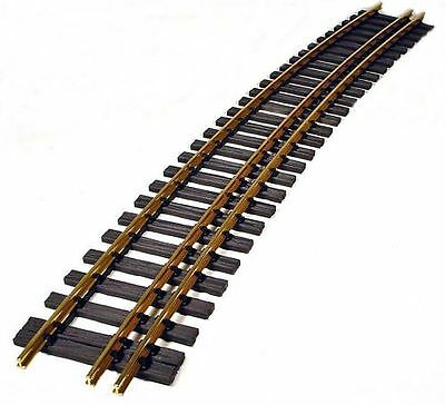 bent 3 rail track 22,5° R=3m, Gauge 2 (64mm) and gauge 2m Narrow gauge ausse