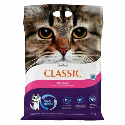 Extreme Classic Cat litter 15kg with Baby powder perfume shovel for tray