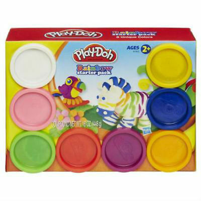 Play-Doh Rainbow Starter Classic Colours 6 Pack Modeling Compound - Hasbro A7923