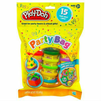 Play-Doh Party Bag Classic Colours 15 Pack Modeling Compound from Hasbro 18367