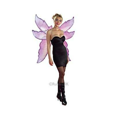 Rubies Fantasy Fairy Wings, Purple and Silver New