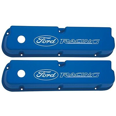 Ford Racing 302 351 Windsor Aluminum Rocker Covers # M-6582-LE302BL