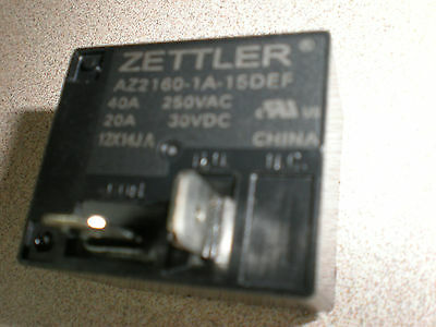 American Zettler AZ2160-1A-15DEF AZ2160 Series 30A Miniature Power Relay SALE
