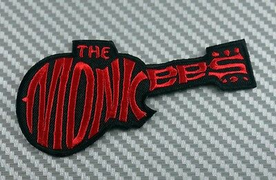 Embroidered Patch Iron Sew Logo Emblem THE MONKEES rock band music punk ska