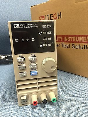 New in box ITECH IT6720 Programmable DC Power Supply 60V 5A 100W
