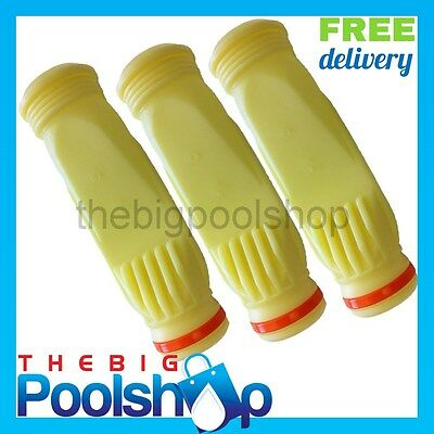 3 X Pool Cleaner Diaphragm Zodiac Baracuda Cassette with retaining ring