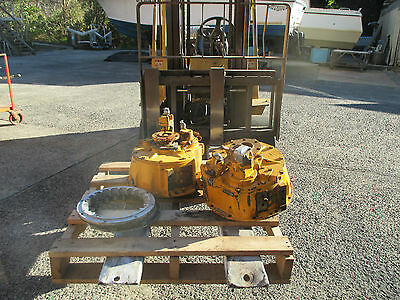 Twin Disc 506 Gearboxes- Caterpillar  - Pair- Left & Right Rotation
