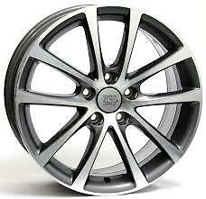 4 Cerchi In Lega Wsp Italy W454 Anthracite Polished 7.5X17 Volkswagen Golf