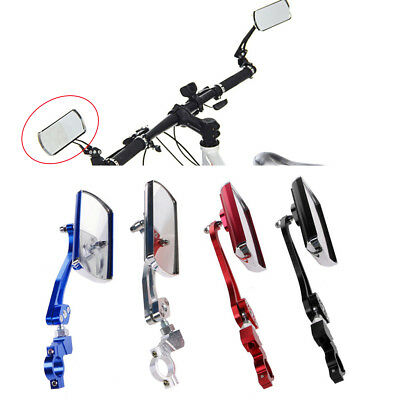 Classic Cycling Bike Bicycle Handlebar Flexible Safety Rear View Rearview Mirror