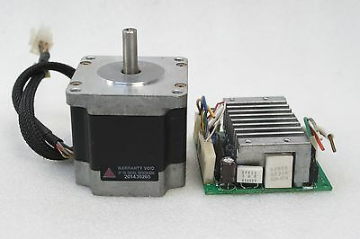Vexta Stepping Motor 5-Phase Pk566H-A, Csd5814N-P Drive Tested Working Freeship