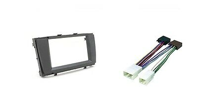 Set Radio Panel 2DIN + ISO Adapter TOYOTA AVENSIS T27 2009 -  Frame