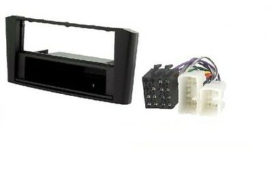 Radio faceplate 1 / 2DIN TOYOTA AVENSIS T25 2003 > Frame + ISO Adapter
