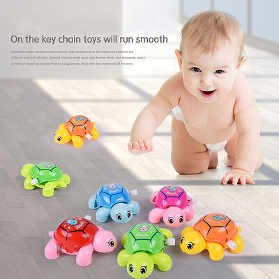 Cute Clockwork Tortoise Children Little Turtle Toys Baby Wind-Up Toys Xmas Gift