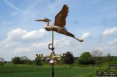 Heron Copper Weathervane