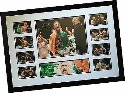 Conor Mcgregor 'the Notorious' Ufc Signed Limited Edition Framed Memorabilia