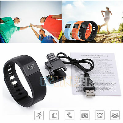 TW64 Sports Fitness Pedometer Activity Bluetooth Tracker Smart Wristband Watch