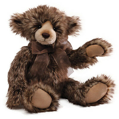 GUND Petunia Teddy Bear [38cm] Soft Plush Toy Collectable Classic Jointed NEW