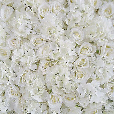 Wedding Flower Wall HIRE Artificial Backdrop 10ft x 10ft SPECIAL OFFER