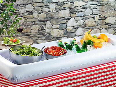 Buffet gonflable pour barbecue party