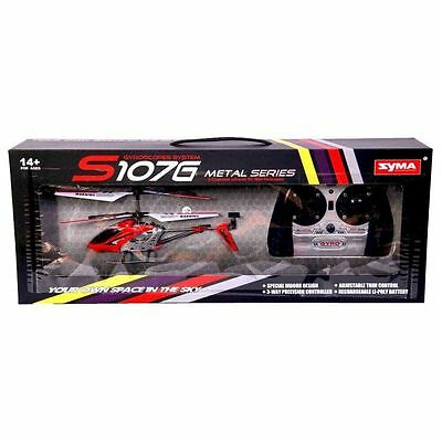SYMA S107G 3.5Ch 3-Channel Gyro R/C Radio Remote Control Indoor Helicopter wi...