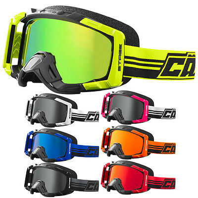 Castle Stage Blackout OTG Mens Snowmobile Sled Skiing Winter Goggles