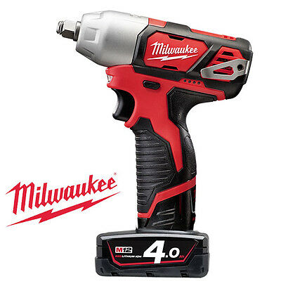 Milwaukee / M12 BIW12-402C / Charge Impact Wrench, 12V, 135Nm