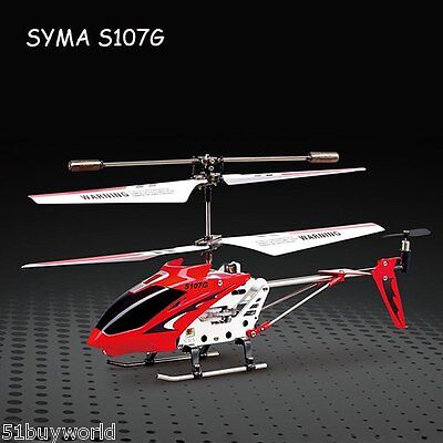 Drone Syma 3 Canaux Gyro RC Quadcopter Hélicoptère Alliage Copter Radiocommande
