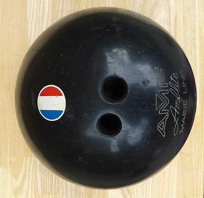 Vintage Bowling Ball AMF Amflite Magic Line with French Flag
