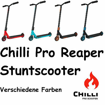 CHILLI Pro Scooter Reaper 2017 Stuntscooter Roller NEU div. Farben
