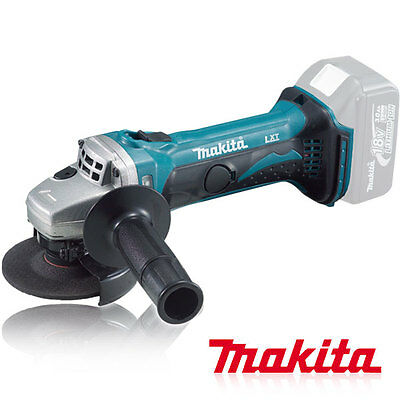 Makita / DGA402Z / Lithium-ion Charge Grinder, Baretool, 18V, Body only