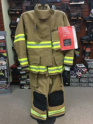 Firefighter Turnout Gear - Lakeland B2 - Coat & Bunker Pants NEW