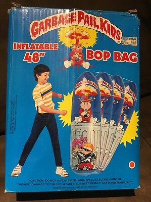 "Vintage Garbage Pail Kids Inflatable 48"" BOP BAG RARE Imperial Toys Adam Bomb"