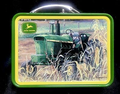 John Deere Mini Lunchbox Case Tractor Collectible