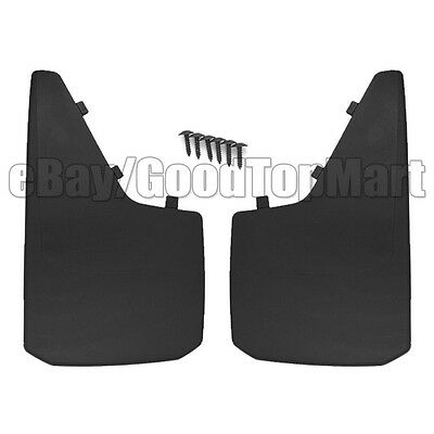 UNIVERSAL Set of 2 Mud Guard Tire Flaps Weather Rain Protection 18.1 x 11 Inches