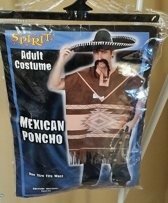 Mexican Poncho Costume - Used Once