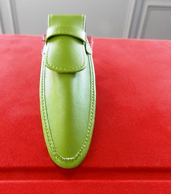NeW AuTHeNTIC CRoSS lime LEaTHER PeN CaSe