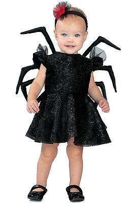 Brand New Baby Widow Spider Insect Girls Dress Toddler Costume