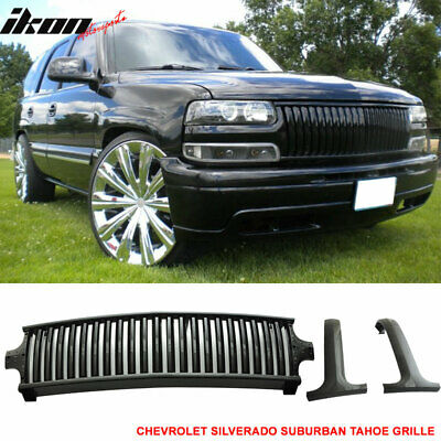 USA Stock Fits 99-02 Silverado 00-06 Suburban Tahoe Vertical Style Grill Grille